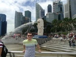 Me and the Merlion