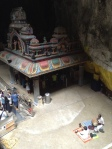 Temple in the caves